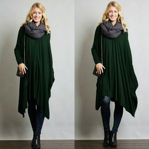 Tops - 🌟Posh Favorite⭐ Long Sleeve Ribbed Oversize Top